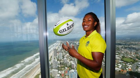 Rugby Sevens player Ellia Green