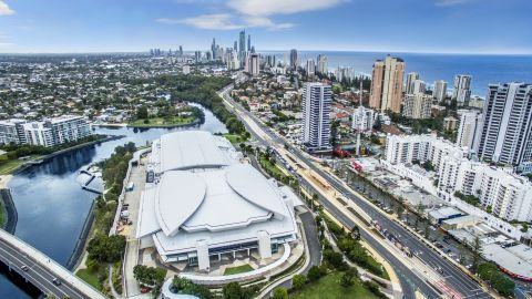 Gold Coast Convention and Exhibition Centre: host of SportAccord 2019