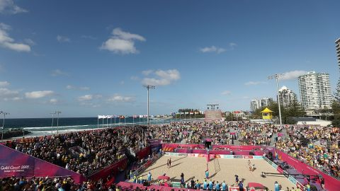 Beach Volleyball at Gold Coast 2018